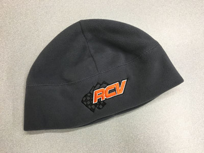 Embroidered Fleece Winter Cap